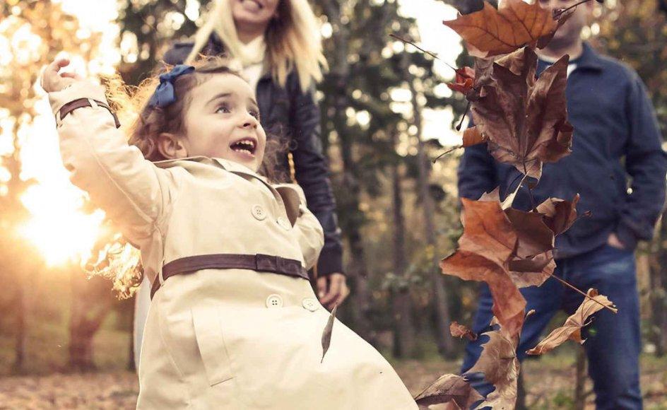 Det er let at være familie, når alle er glade. Men er forældre bange for at tage ansvaret, når det er svært?