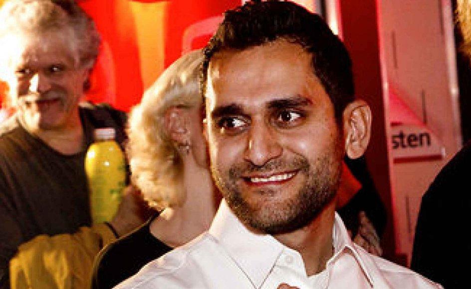 Borgerrepræsentant Allan Ahmad (EL) forsvarer partiets ret til at bruge Krystalnatten til indsamling. -