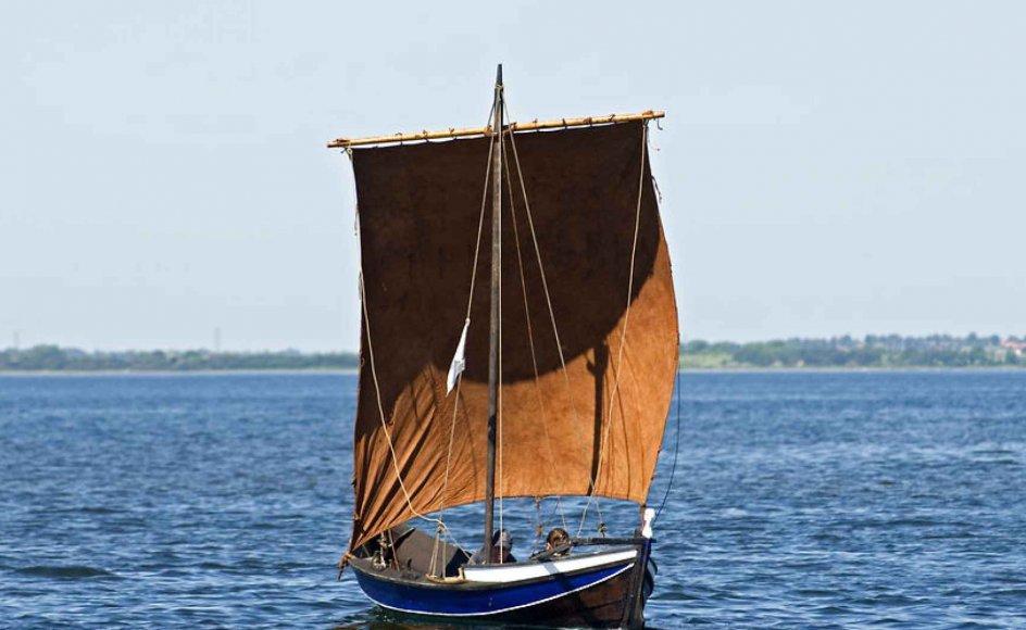 vikingeskib på Roskilde Fjord