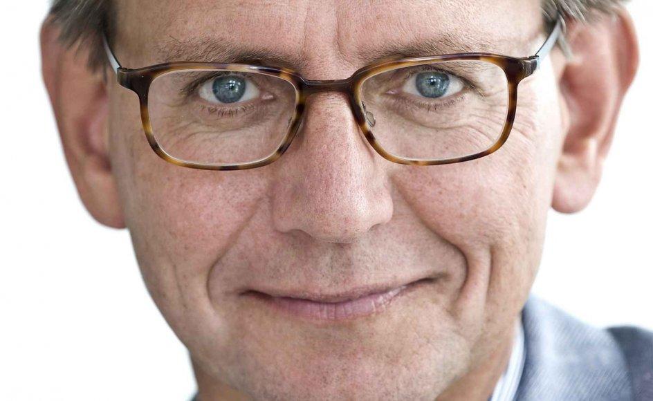 Erik Bjerager, chefredaktør og direktør for Kristeligt Dagblad.