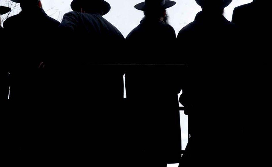 Jødiske rabbinere. - Foto: LFI/Photoshot/Scanpix