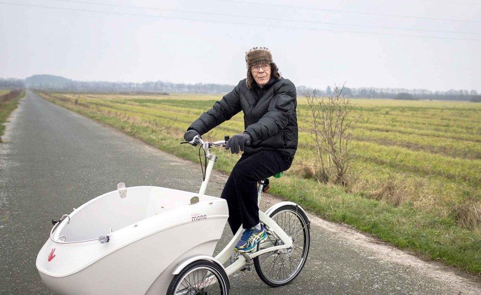 Robert Lauritsen har en aggressiv hjernesvulst, der vil tage livet af ham, men indtil videre lever han sit sædvanlige, aktive liv med cykel- og løbeture, tennis, golf og styrketræning. Se flere billeder ved at bladre i billedserien.