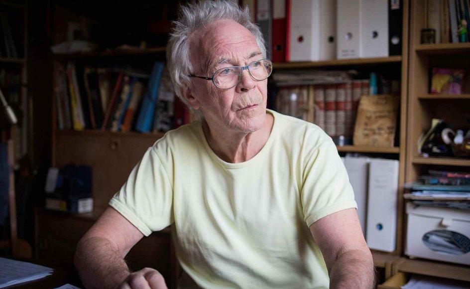 70-årige Robert Lauritsen forholder sig indtil videre nysgerrig og praktisk til sin sandsynligvis snarlige død
