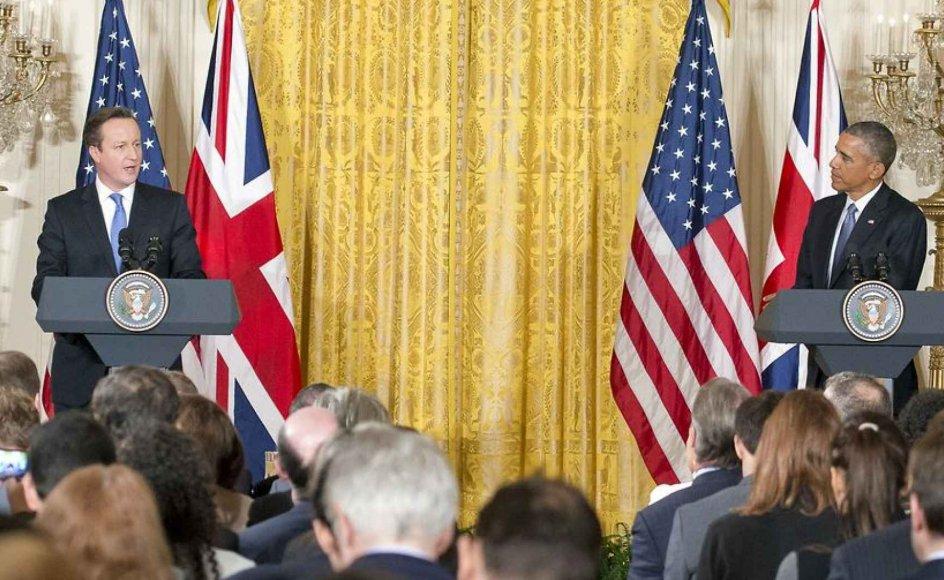 """Barack Obama mødtes i weekenden med Storbritanniens premierminister David Cameron, hvor han """"moraliserede"""" over europæernes problemer med integration af muslimer. Det skriver Michael Böss."""