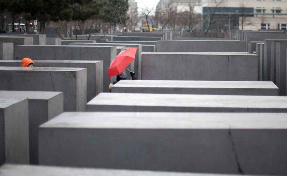 Tyskland, der i sin tid var arnestedet for nazismen og holocaust, er i dag et populært land blandt jøder. Flere israelere indvandrer nu til Tyskland end tyske jøder udvandrer til Israel. Arkivfoto fra mindesmærket i Berlin for de myrdede jøder i Europa.
