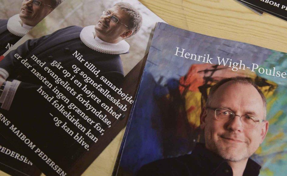 Det er nu afgjort, hvem af de to bispekandidater, der skal sætte sig i stolen efter Kjeld Holm. Arkivfoto.