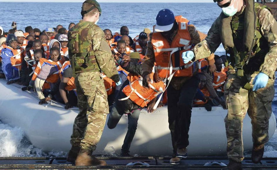 Blot den seneste uge har skandinaviske både reddet op mod 1000 bådflygtninge i Middelhavet. Arkivfoto.