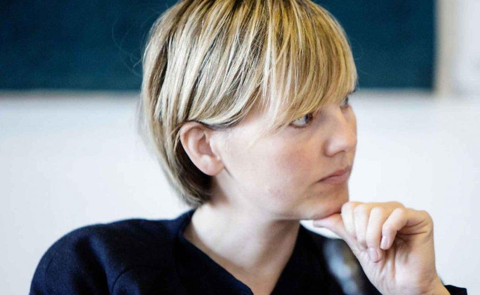 Politikeren Ida Auken (R) er en af dem, der har måttet stå model til en voldsom tilsvining, efter hun udtrykte sig imod et forbud af drengeomskæring. Arkivfoto.