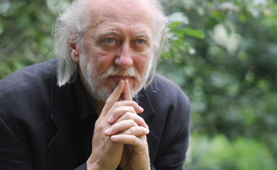 Den ungarske forfatter László Krasznahorkai har skrevet en særdeles pessimistisk roman, der nu er udkommet på dansk. Arkivfoto.