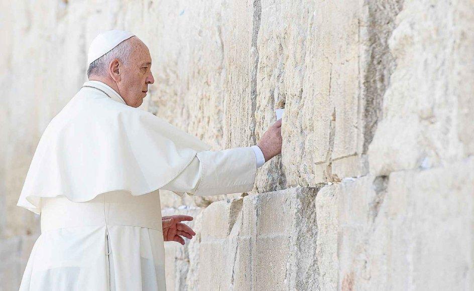 I dag er vi forfærdede over at se, hvordan vores brødre og søstre bliver forfulgt, torteret og dræbt i Mellemøsten og andre steder i verden for deres tro på Jesus, siger pave Frans.