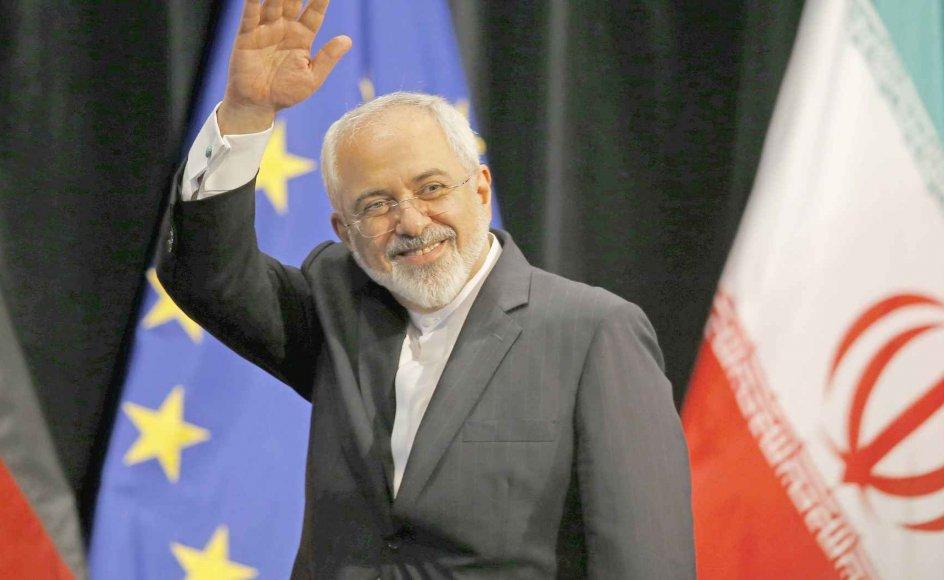 Irans udenrigsminister, Mohammad Javad Zarif, talte i går om et historisk øjeblik og et nyt kapitel for håb.