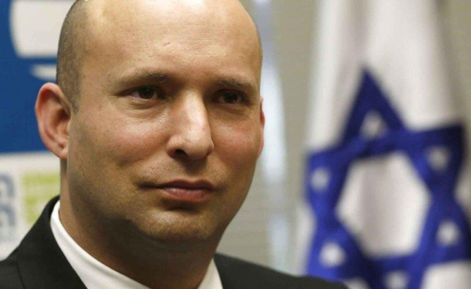 Vi forbereder os på alt, der er nødvendigt for at forsvare os selv, siger den israelske højrefløjspolitiker, undervisningsminister og medlem af landets sikkerhedskabinet Naftali Bennett.