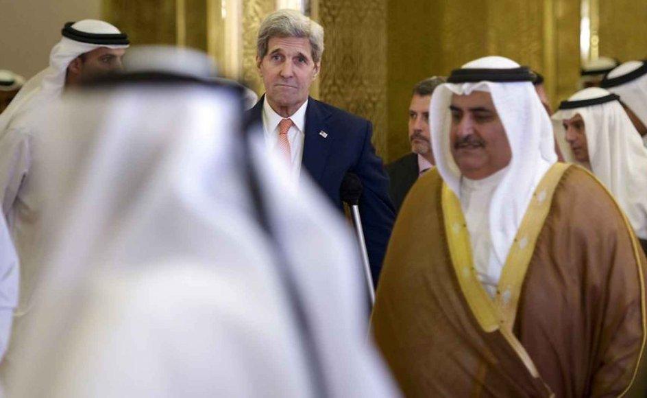 Med den nyligt indgåede atomaftale står de økonomiske sanktioner mod Iran til at blive løftet, hvilket ventes at forbedre den økonomiske situation i landet. Foto: AFP PHOTO / BRENDAN SMIALOWSKI