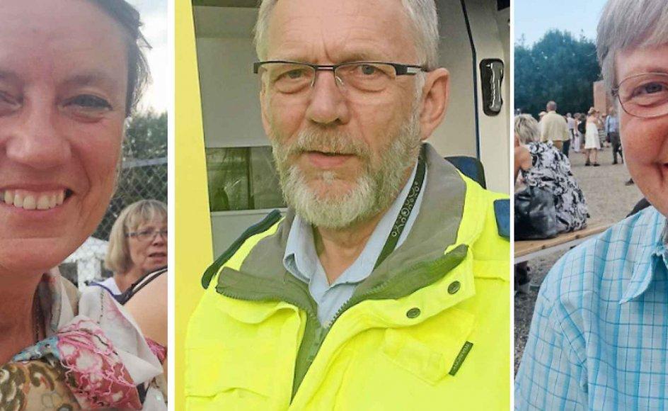Else Mathiassen, Henning Sørensen og Birgitte Bogner