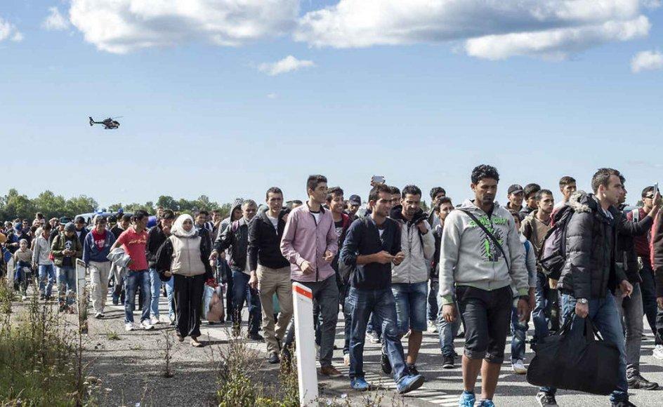 I Rødby, som er blevet flygtningenes primære indgangsport til Danmark, oplever man opdelingen særlig stærkt, fortæller nyhedsredaktør David Arnholm fra Lolland-Falsters Folketidende.