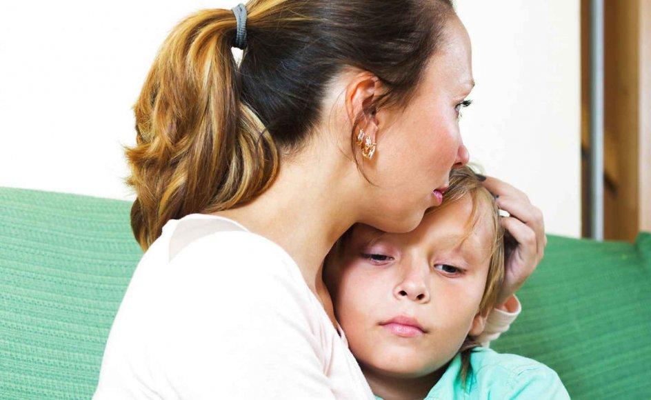 """Man skal hurtigt involvere sine børn, når man har besluttet sig for at blive skilt, skriver Lola Jensen i sin nye bog """"Pas på familien"""". Modelfoto"""