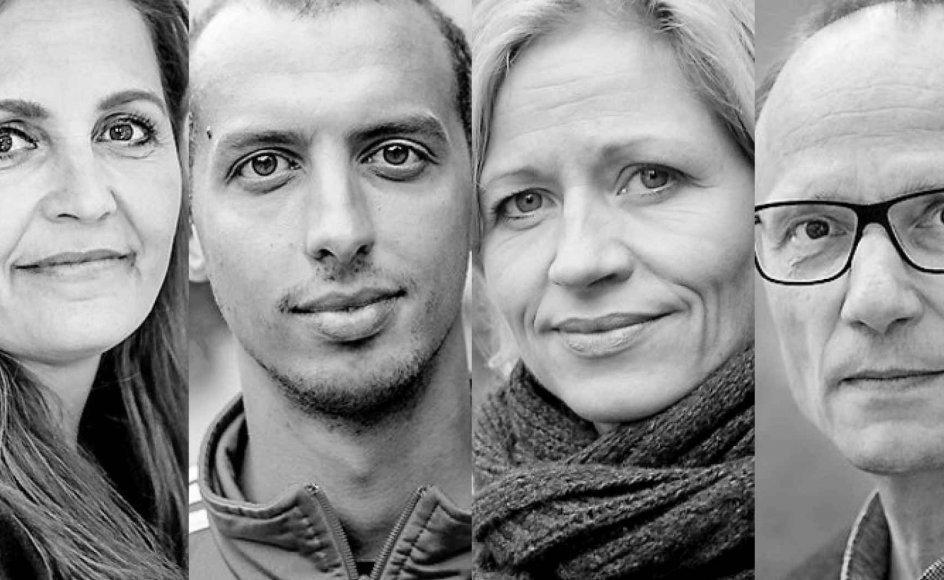 Pia Olsen Dyhr (SF), Mattias Tesfaye (S), Marie Krarup (DF), Henrik Wigh-Poulsen (biskop) og Morten Kjærum (jurist) har forskellige holdninger til, hvem der er deres næste.