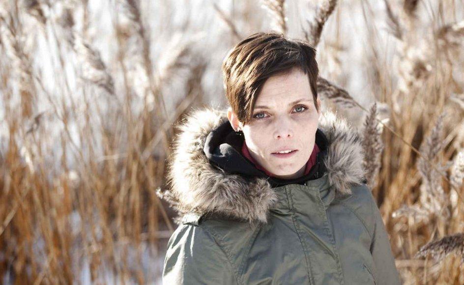 Forfatter Anne Lise Marstrand-Jørgensen er ikke bange for at satse stort, skriver Svend Skriver. Arkivfoto.