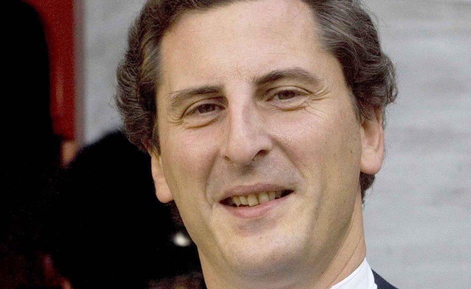 Giordano Bellincampi blev i 2010 tildelt ridderkorset. -