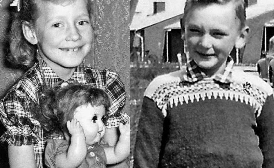 Kan du genkende de tre kendte danskere på deres barndomsbilleder? Klik på pilen til højre i billedet og se, hvem de er. Alle fotos fra bogen.