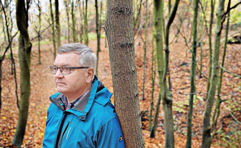 I tiden efter depressionen har professor doktor theol. Peter V. Legarth fået et andet forhold til farver. Glæden ved farver, som det gyldne løv, der dækker skovbunden i Risskov, har fulgt ham sammen med en ny sårbarhed.