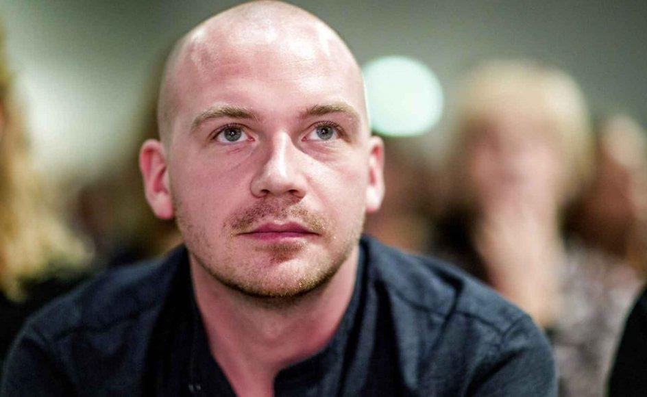Årets Debutantpris blev fredag uddelt til Morten Pape på BogForum i Bellacenteret, København.