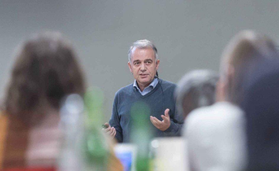 Muslimske Safet Bektovic taler her om afradikalisering ved nyligt seminar i Haderslev.