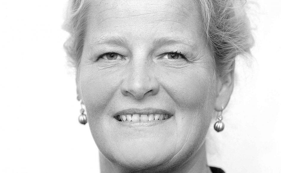 Vig-præst Annette Berg.