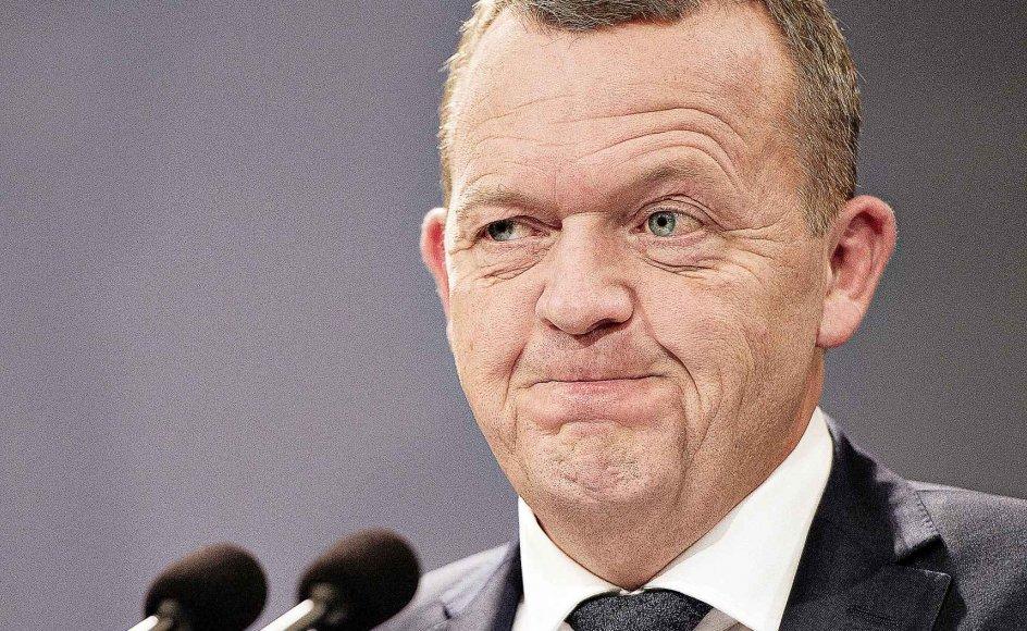 Befolkningens nej ved EU-afstemningen om retsforbeholdet blev tolket som en mistillid til den politiske elite, herunder statsminister Lars Løkke Rasmussen (V).-