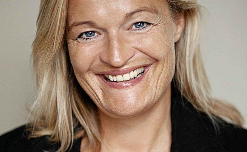 At tænke på BMI og kalorier gør direktør Karen Lumholt deprimeret. -