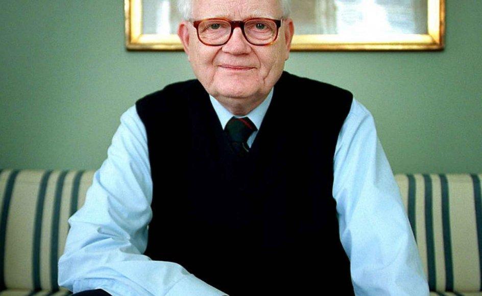 Erling Tiedemann, tidligere formand for Det Etiske Råd, er død