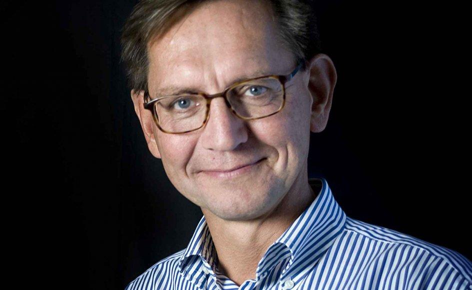Erik Bjerager,chefredaktør og administrerende direktør pŒ Kristeligt Dagblad.
