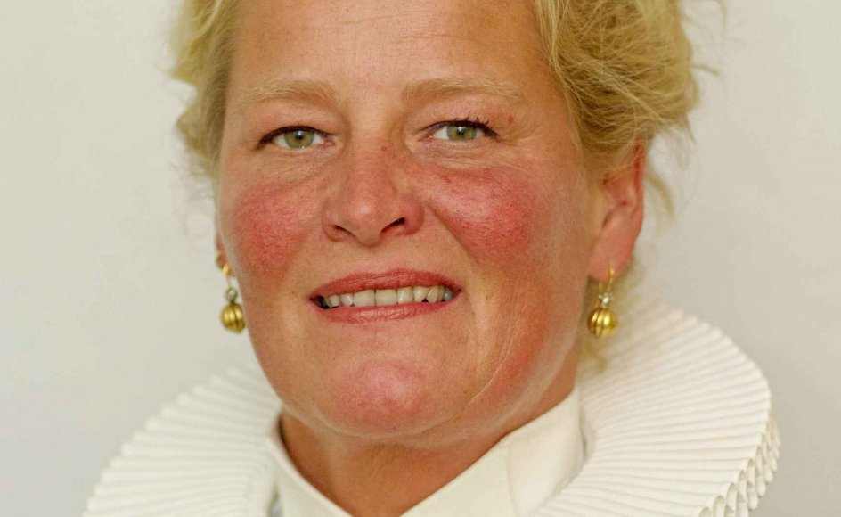 Sognepræst Annette Berg fra Vig i Odsherred har i et tv-program bekendt sin tro på reinkarnation. - Privatfoto.