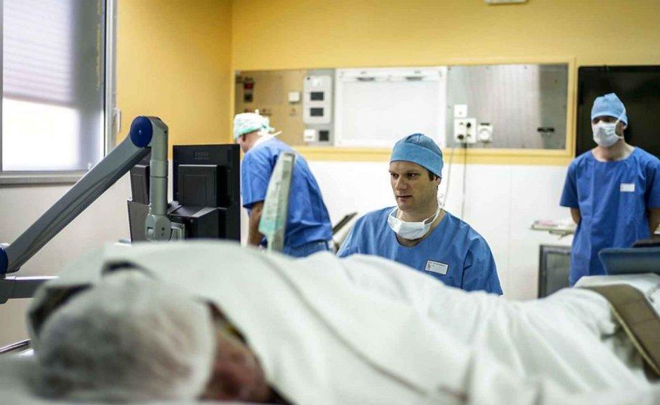 2015 bød på en fremgang i antallet af organdonationer i Danmark. Ifølge nye tal fra Scandiatransplant, som står for koordineringen af organer i Skandinavien, fik 393 danske patienter sidste år et nyt organ fra i alt 87 afdøde donorer og 119 levende nyredonorer. Arkivfoto.