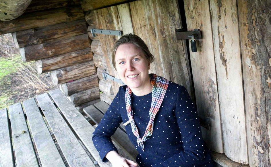 """43-årige Birgitte Meisner Nielsen har siden 2014 været generalsekretær i De grønne pigespejdere. I søndagens tekst forholder hun sig til spørgmålet fra Jesus til apostlene: """"Hvem er størst: den, der sidder til bords, eller den, der tjener?""""."""