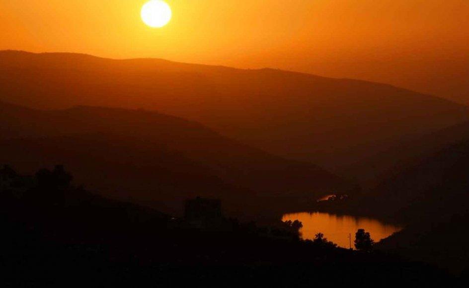 Jordan er løsningen på konflikten mellem Israel og palæstinenserne, mener Søren Harslund. Her ses Jordandalen i Jordan.
