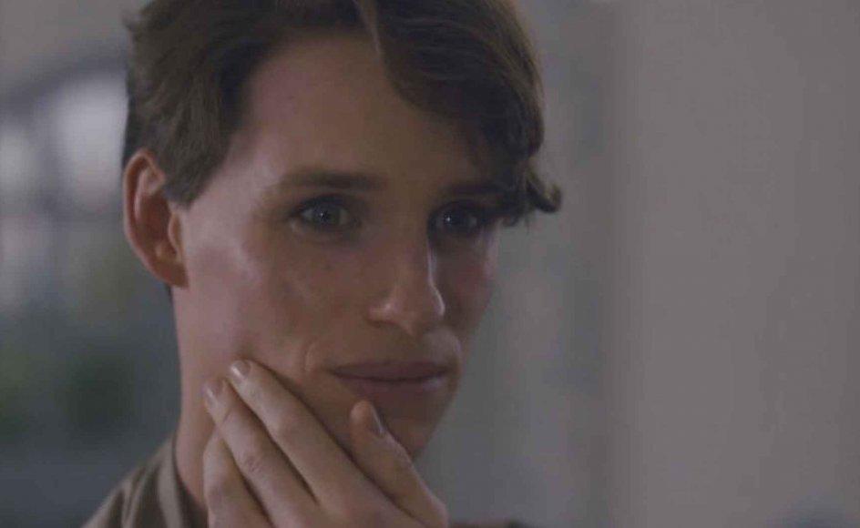 """I filmen """"The Danish Girl"""" spiller skuespiller Eddie Redmayne Einar Wegener, som er en af de første i verden til at gennemgå en kønsskifteoperation."""