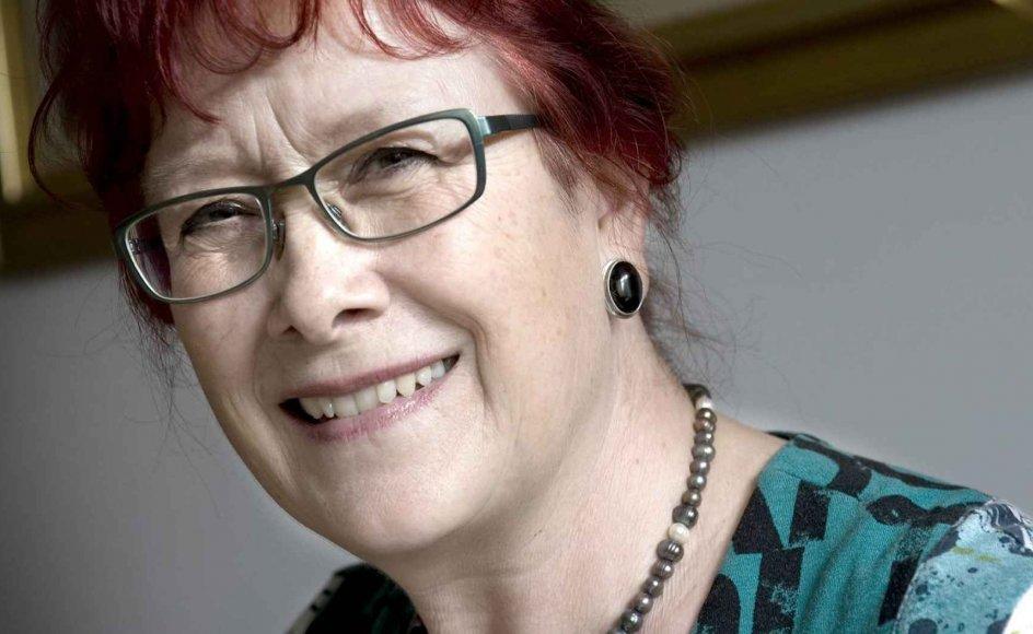 """""""Det er en anden slags liv, men det er vidunderligt,"""" siger Lise Egholm om sin nye tilværelse som pensionist. –"""