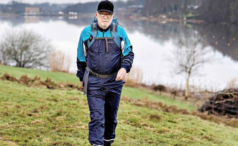Når tv-direktør på TV Midtvest Ivar Brændgaard går på pension, pønser han på fire benspænd. Et af dem handler om at vandre.