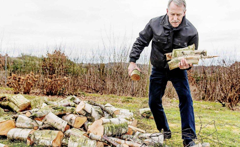 Naturen er afgørende for Niels Ebbe Pedersen, som regner med, at den nye tid som pensionist blandt andet skal gå med havearbejde ved huset i Odsherred.