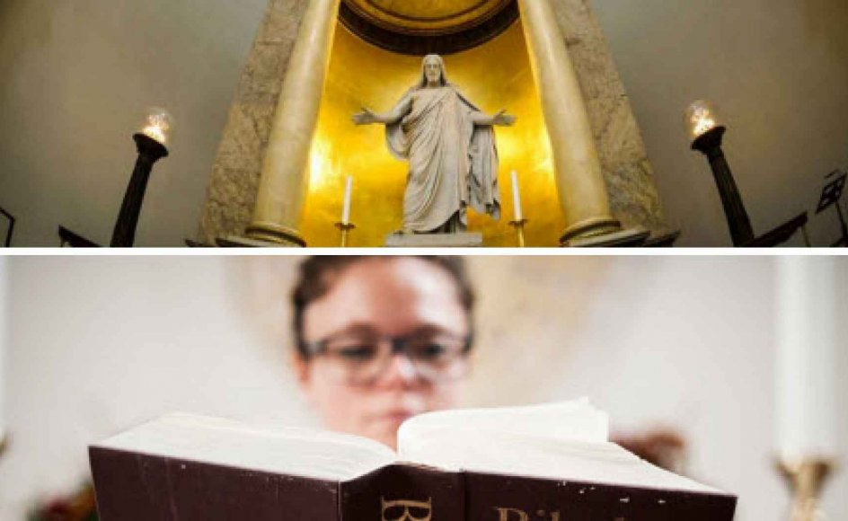 Hvor mange bliver døbt, viet og konfirmeret i de danske folkekirker? Og hvordan står det til med medlemsprocenten i de danske kirker? Få svar i statistikken neden for.