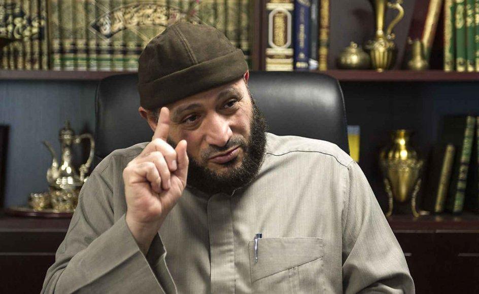 Trossamfund og rabiate imamer er på alles læber, og nu lægges der nyt politisk pres på det regeringsnedsatte udvalg, som skal regulere trossamfund uden for folkekirken. Her ses formanden for Grimhøjmoskeen, Oussama El-Saadi.