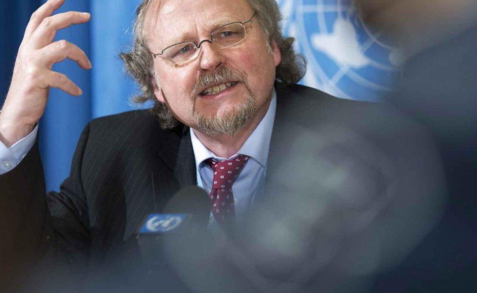 De danske politikere bør i højere grad arbejde på, hvordan de kan brede den danske religions- og trosfrihed ud, mener FN-rapportør Heiner Bielefeldt.
