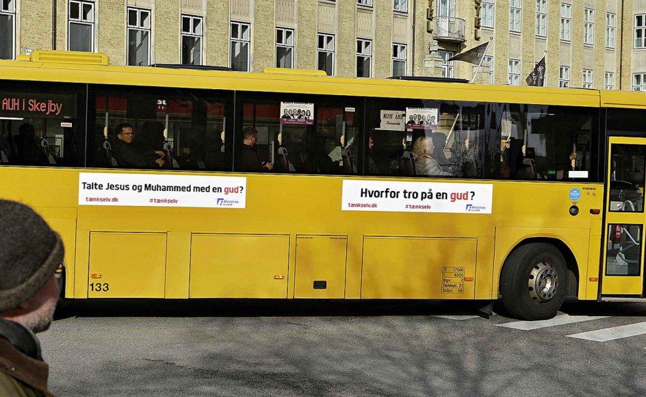Religionskritik er nødvendig i ethvert samfund. Men det står skidt til i Danmark med en sådan ynkværdig forestilling. Det er udtryk for en sjældent set egoisme og asocialitet, skriver domprovst om Ateistisk Selskabs nye busreklame.