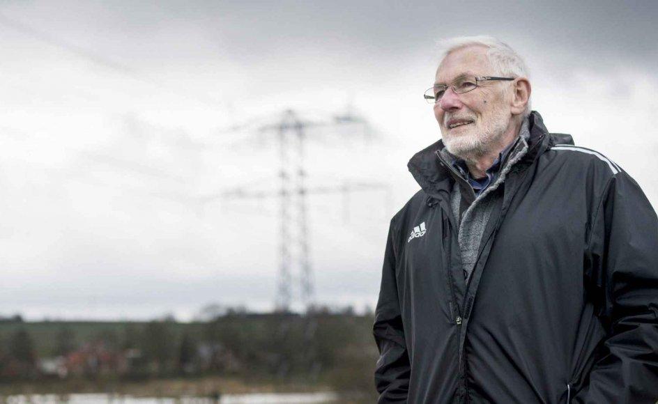 For at få det bedste ud af pensionisttilværelsen hjalp Preben Arndt sine venner med havearbejde og mindre reparationer, og han cyklede ofte rundt om Årslev Engsø i Aarhus. – Begge fotos: Petra Theibel Jacobsen.