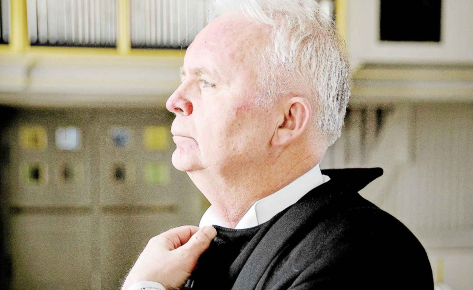 Ronald Risvig blev præst i en alder af 60 år. Vejen dertil var kringlet, men han priser sig lykkelig for at være nået i mål. –