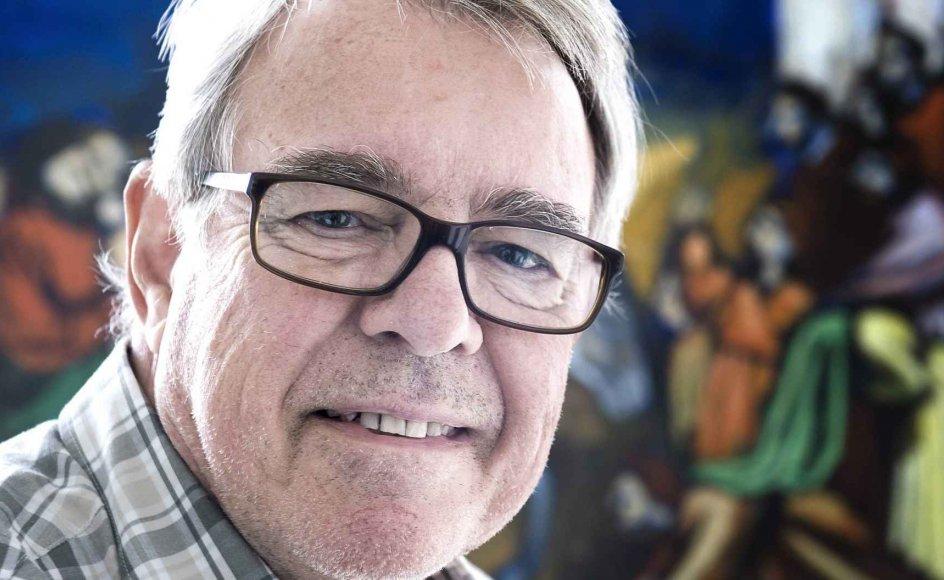 Leif Munksgaard går altid med et kors om halsen. Da han var udsendt som missionær, kunne korset være en samtaleåbner om tro.