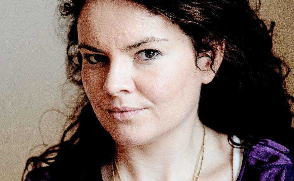 """Julia Lahme, 39 år, forfatter og debattør. Aktuel med debatbogen """"ManiFest"""". Hun er uddannet etnolog og driver et kommunikationsbureau."""
