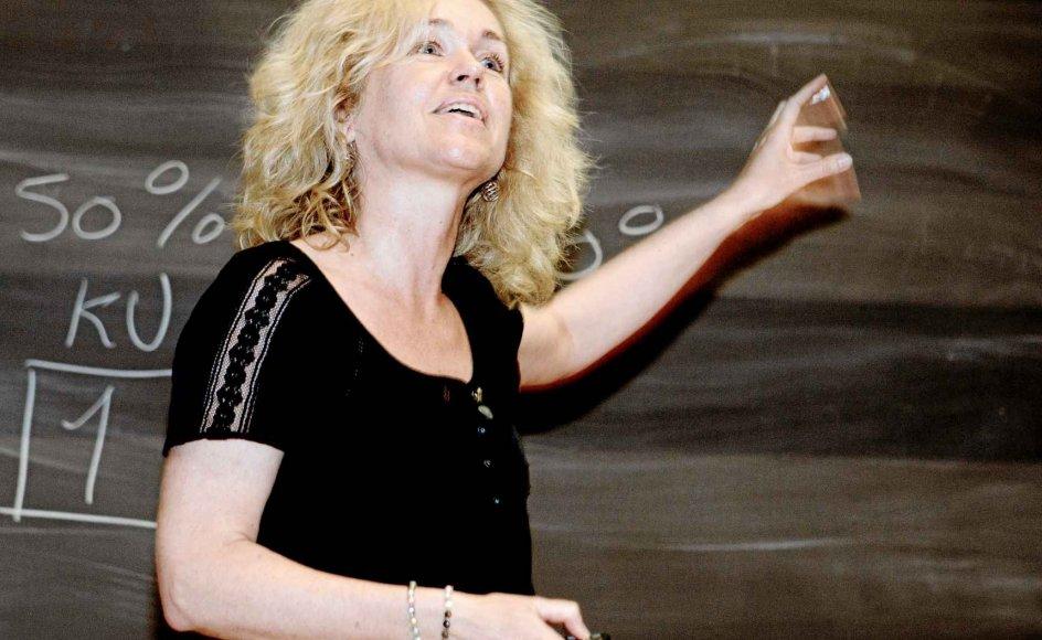 Astronom og astrofysiker Anja C. Andersen er vokset op i et kirkefremmed hjem og blev døbt som voksen. –