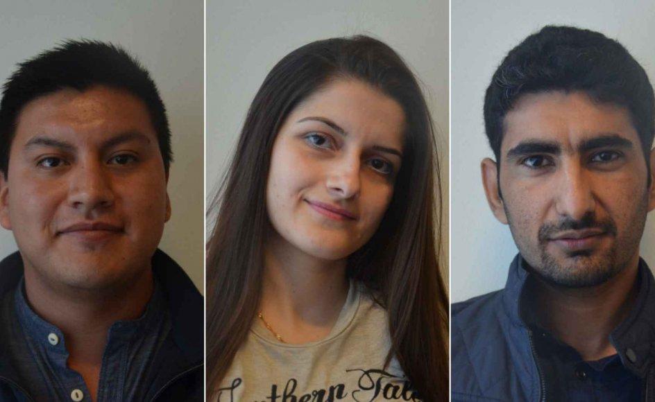 Mazkin, Wellington og Muhammad er tre af 73 nye elever på Hvidovre Gymnasiums indslusningsforløb for flygtninge og indvandrere. De har forskellige og endnu ikke helt færdigudtænkte karrieremål, men fælles for dem er, at de drømmer om danske universiteter.